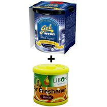 Car Perfume Areon & Liboni Air Freshner - Crystal&Lemon, yellow