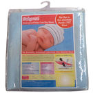 Babyrose Waterproof Baby Sleeping Mat - Medium, sky blue, medium