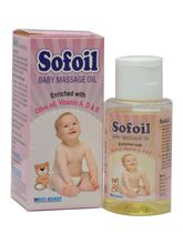 WestCoast Sofoil Baby Massage Oil ( Pack Of 2), 30...