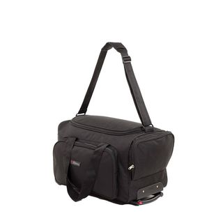 Bleu Travel Bag with Trolley, black