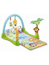 Saffire Rain Forest 1-2-3 Musical Baby Gym, multicolor