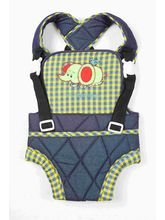 Mothertouch Baby Carrier - BCDENY, blue and yellow