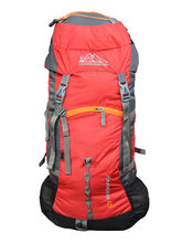 Himalayan Adventures Rucksack Hiking Backpack For Unisex, red
