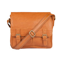Lomond LM89 Sling Bag For Men, tan