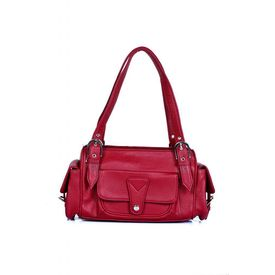 Ivy Precious Cherry Cracked Finish Handbag (88156_ 07),  cherry