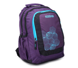 American Tourister Casual Unisex Backpack - R51-0-51 004, purple