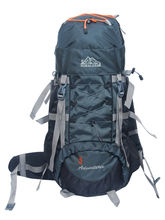 Himalayan Adventures Rucksack Hiking Backpack For Unisex, black