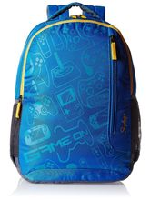 Skybags Unisex Fashion Backpacks, blue