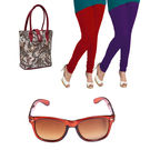 Igypsy Handbag Gift Combo Sale - Pack Of 4, maroon