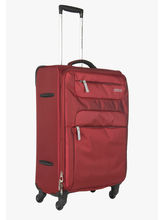 American Tourister 55 cm ski Unisex Strolley Bag, burgundy and grey