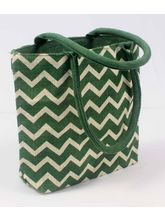 Luk Luck Trendy Hand Bag Zigzag, green