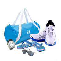 D Vogue Gym Bag, Shoe, Flip Flop, Watch and Sunglasses Combo, 9, 7