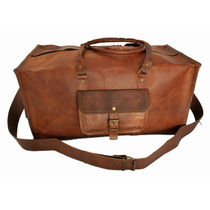 Rustictown Travel Square Duffle Bag, brown