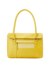 Donna & Drew Hand Bag (4031), yellow