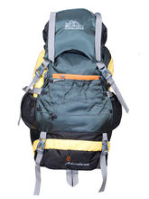 Himalayan Adventures Rucksack Hiking Backpack For Unisex, yellow