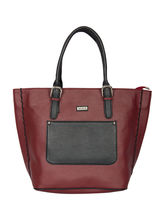 Bern Br 159 Tote Bag, cherry and black