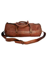 Rustictown Travel Round Duffle Bag, brown