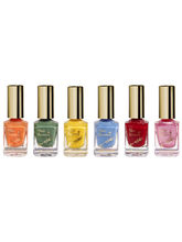 Blue Heaven Combo Of 6 Xpression Nail Paint, 54 ml
