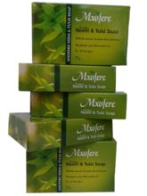 Mxofere Natural Handmade Neem Tulsi Soap Kit (Pack Of 5)