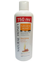 Natural Honey Shower Gel Nourishing, 750ml