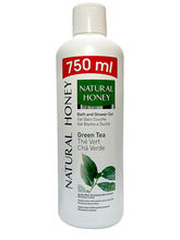 Natural Honey Shower Gel Green Tea, 750ml