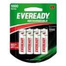 Eveready 700 mah 4 Battery Pack, multicolor