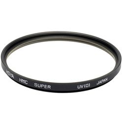 Hoya HMC UV(0) 72 mm Filter,  black