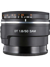 Sony SAL 50mm F1.8 Lens (Black)