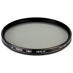 Hoya HRT CIR-PL UV 49 mm Filter,  black