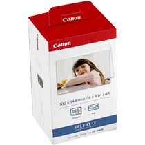 Canon KP-108IN Color Ink Paper Set 3115B001 (Cartridge only), multicolor