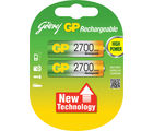 Godrej GP AA 2700 mAh LSD (2 Pcs) Rechargeable Battery (Multicolor)
