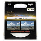 Kenko MC UV 370 Slim 62mm Lens Filter,  black