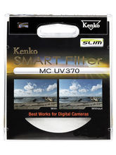 Kenko MC UV 370 Slim 49mm Lens Filter, black