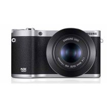 Samsung NX300-3D Lens pack 18-55mm+ 45mm (3D) Camera,  black