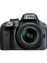 Nikon D3300 DSLR (with AF-S 18-55mm VRII Kit Lens) (Black)