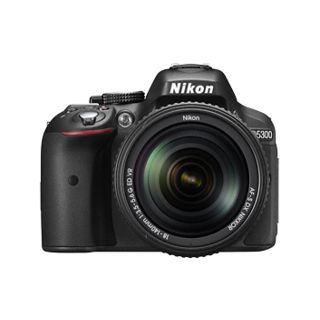 Nikon D5300 DSLR (with AF-P DX NIKKOR 18-55mm f/3.5-5.6G VR...