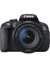 Canon EOS 700D DSLR (With EF S18-135 IS STM Lens), black