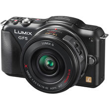 Panasonic Lumix DMC-GF5-XGC,  black
