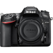 Nikon D7200 DSLR Camera(Body Only),  black