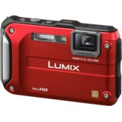 Panasonic Lumix DMC-FT3,  red