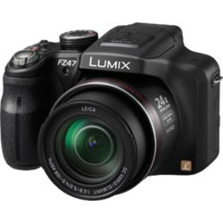 Panasonic Lumix DMC-FZ47,  black