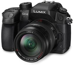 Panasonic Lumix GH4K Camera with 12-35 F2.8 lens (Black)