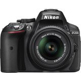 Nikon D5300 DSLR (With AF-P 18-55mm VR Kit Lens) (Black)