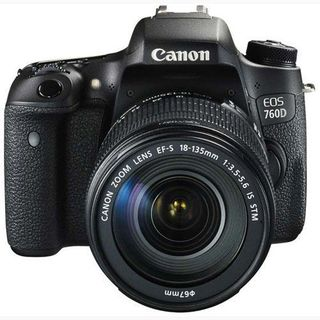 Canon EOS 760D Kit DSLR Camera (with EF-S 18-135mm IS...