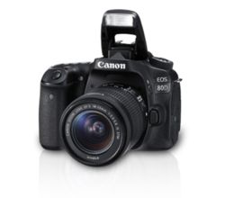 Canon EOS 80D DSLR Camera (with EF-S18-55 IS STM Lens)