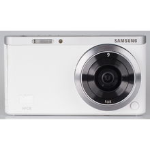 Samsung NX Mini Interchangeable-lens camera,  white