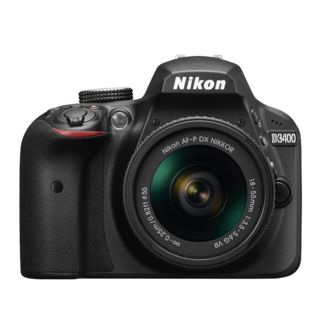 Nikon D3400 DSLR  with AF P 18 55mm VR Kit Lens