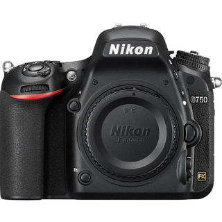 Nikon D750 DSLR (Body Only), black