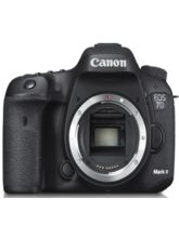 Canon EOS 7D Mark II (Body Only) DSLR Camera (Black)