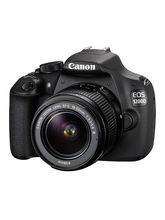 CANON EOS 1200D DSLR With Lens Kit (EF S18-55 IS II), black